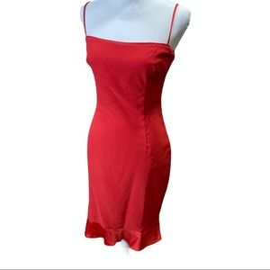 Laundry Vintage Red Siren Cocktail Dress 8 Formal